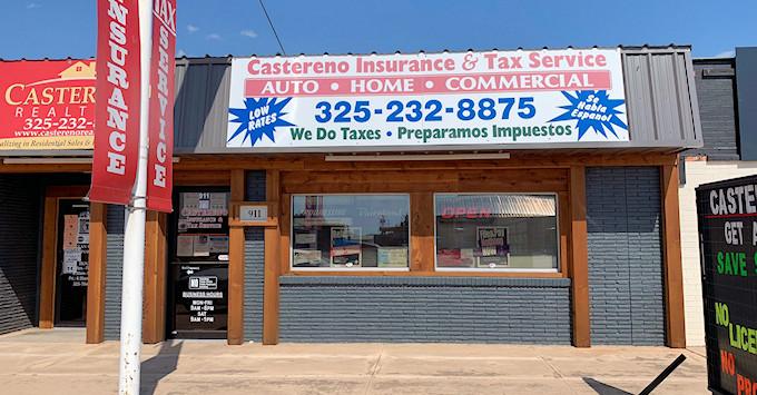 Castereno Insurance & Tax Service Building